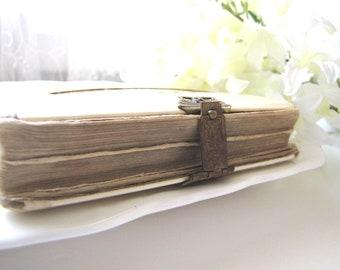 Antique Celluloid Prayer Book German 1904