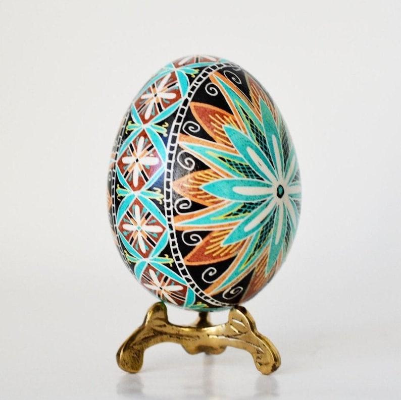 Easter eggs pysanky hand painted Ukrainian Pysanky Easter image 1