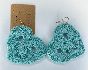 Crochet earrings | Accessories | Handmade Jewelry | Dangle Earrings | Boho Earrings