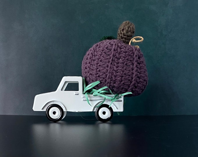 Featured listing image: Crochet Pumpkins | Farmhouse Ornament | Holiday Ornament | Handmade Ornament | Crochet Ornament | Home Rustic decorations | Holiday decor