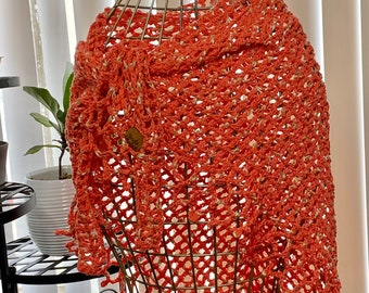 Crochet Sarong | Beach Cover Up | Lace Skirt | Summer wear | Bathing suit cover | Swimwear Sarong | Shawl | Women's Clothing