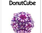 Ebook - Beaded Bead DONUT CUBE - pdf pattern