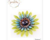 Beading pattern GERBERA - PDF-DOWNLOAD