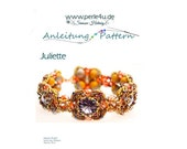 Beading pattern Bracelet JULIETTE  PDF-Download