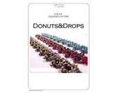 Beading pattern Bracelet DONUTS & DROPS - PDF-Download