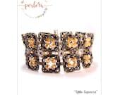 Beading pattern Bracelet LITTLE SQUARES PDF-Download