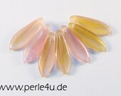 5x16 mm Dagger-Bead - rose yellow  (5x16/6093)