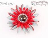 """DIY-MATERIAL-KIT - Pendant""""Gerbera"""""""