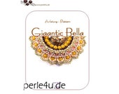 Beading pattern GIGANTIC BELLA - PDF-Download