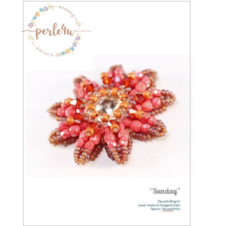 Beading pattern SUNDAY  Pdf-Download image 0
