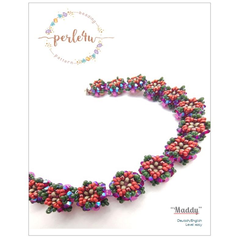 Beading pattern Bracelet MADDY  PDF-Download image 0