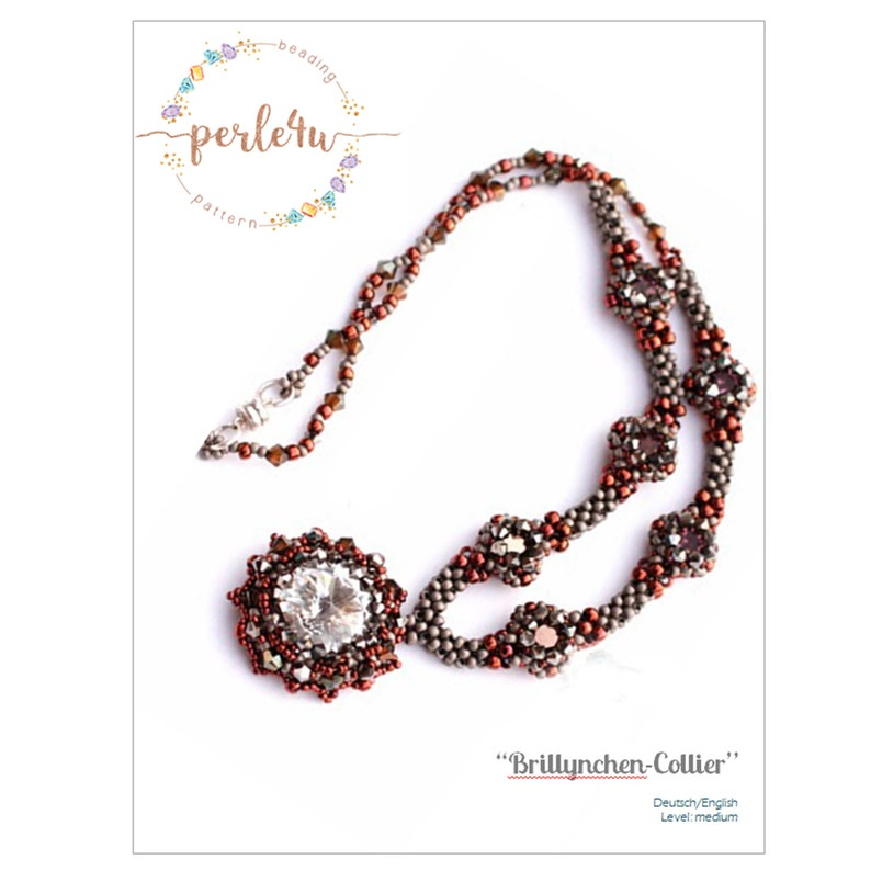 Beading pattern Necklace / Collier BRILLYNCHEN image 0