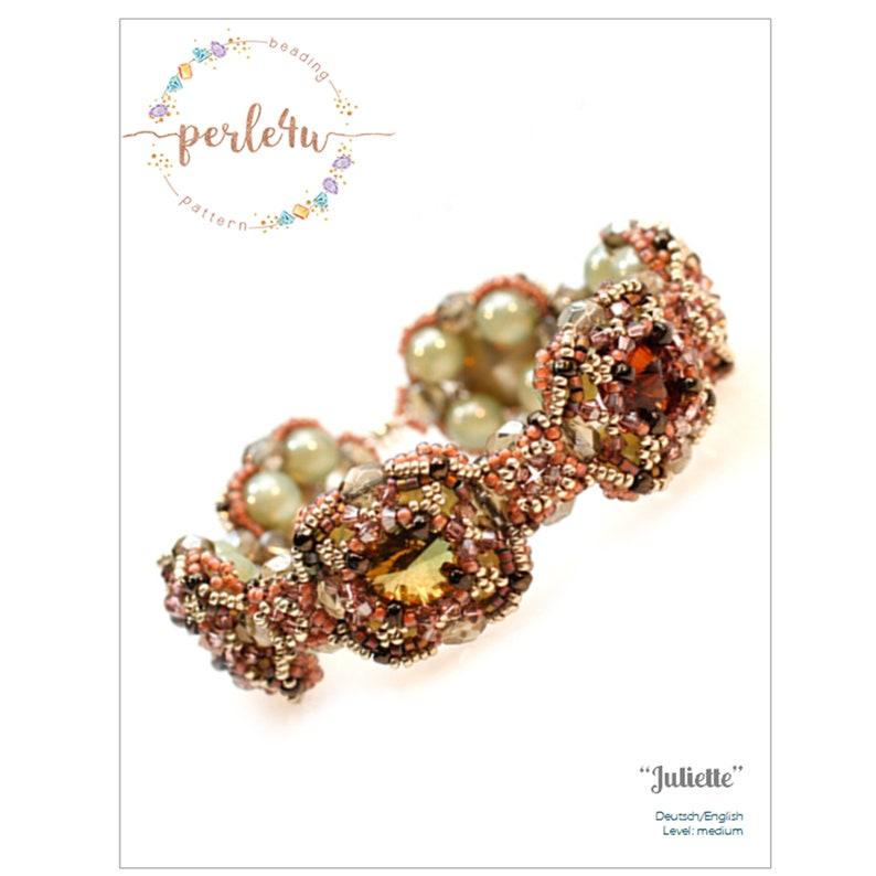 Beading pattern Bracelet JULIETTE  PDF-Download image 0