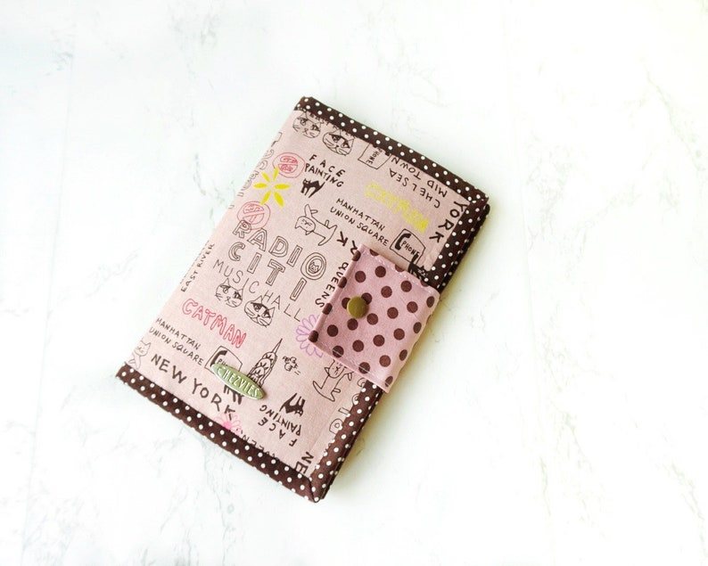 Pink Passport Wallet Vegan Travel Wallet Custom Passports image 0