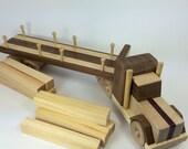 Wood Tractor Trailer - Ha...