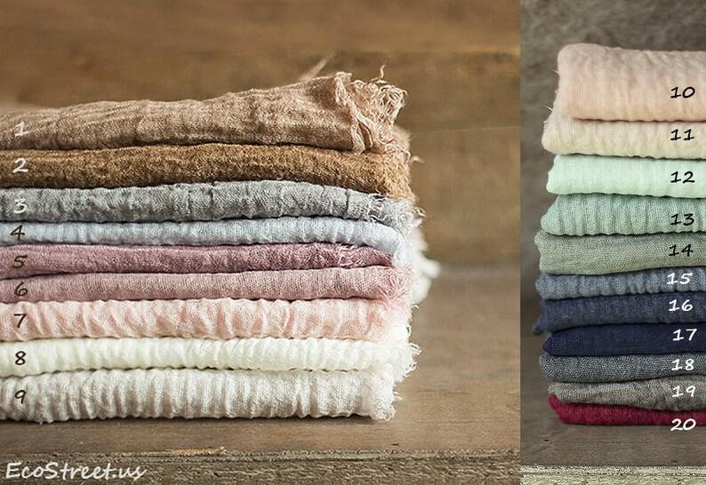 Gauze Wraps Layering Baby Wrap Newborn Wrap Blush Many image 0
