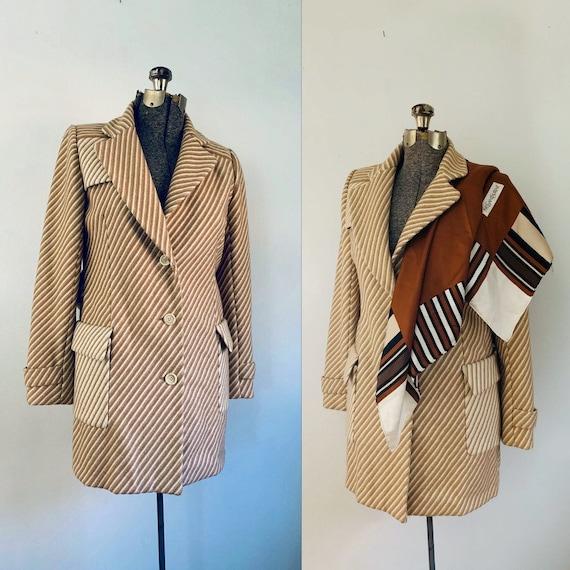 1970s Bill Blass Cashmere Jacket Coat
