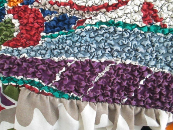 Sundress Beach Skirt Coverup Vintage Gabar - image 3