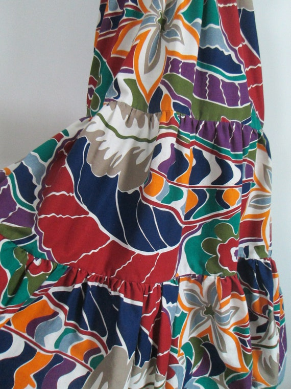 Sundress Beach Skirt Coverup Vintage Gabar - image 6