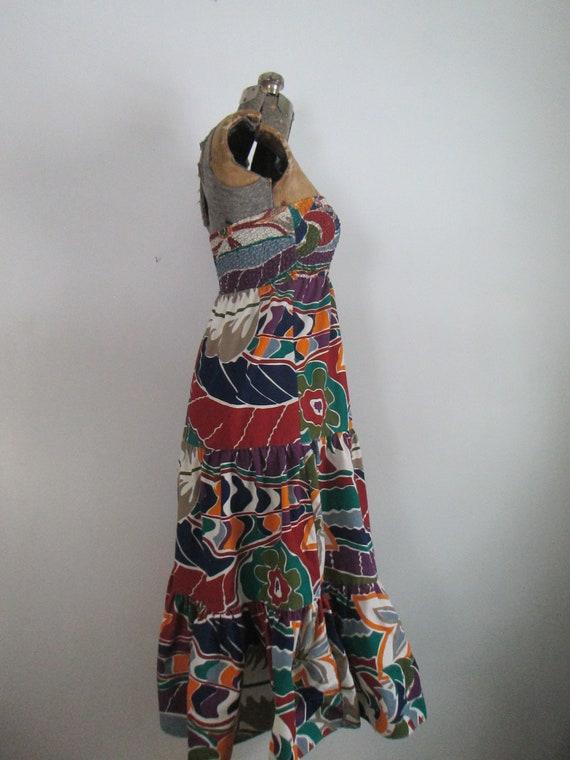 Sundress Beach Skirt Coverup Vintage Gabar - image 8