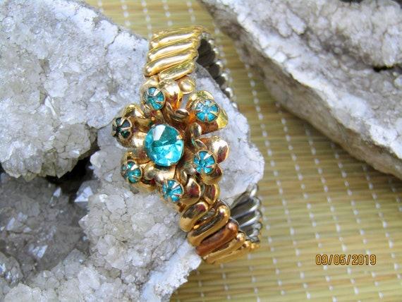 Antique Gold Filled Bracelet, EXPANSION BRACELET,… - image 3