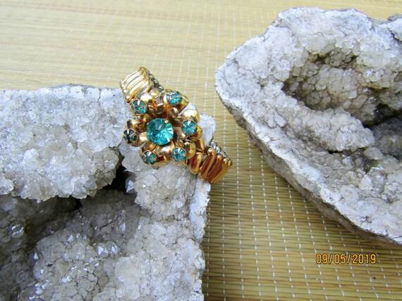 Antique Gold Filled Bracelet, EXPANSION BRACELET,… - image 4