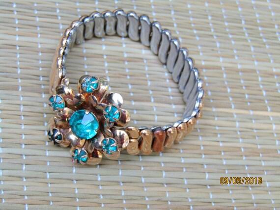 Antique Gold Filled Bracelet, EXPANSION BRACELET,… - image 9