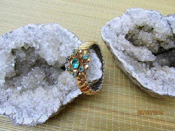 Antique Gold Filled Bracelet, EXPANSION BRACELET,… - image 6