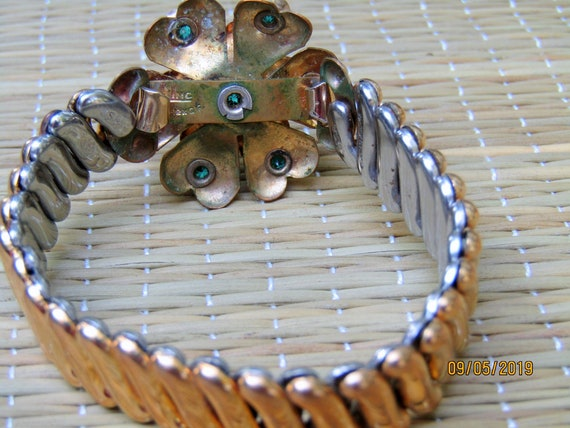 Antique Gold Filled Bracelet, EXPANSION BRACELET,… - image 10
