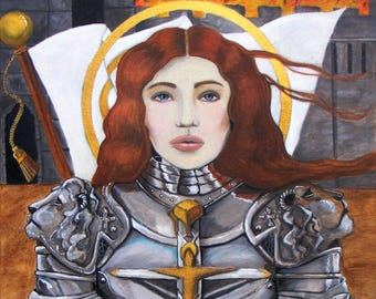 Joan of Arc Collectible Art Print
