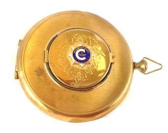 Rare Civitan International Compact Photo Locket, Vintage Compact, Vintage Locket, Vintage Accessory