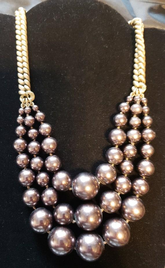 Givenchy Necklace, Statement Necklace, Vintage Nec