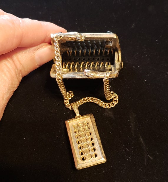Make and Offer! Antique Chatelaine Purse, Black Be