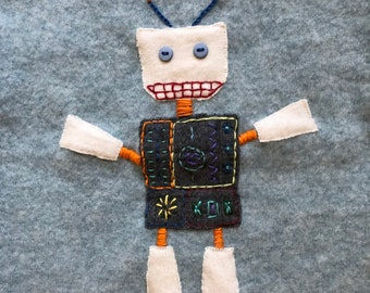 Robot Cashmere sweater 2-3 y/o