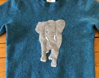 Elephant Cashmere Sweater 4-5 y/o