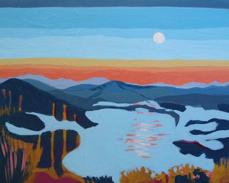 Original Landscape Painting  Acrylic Landscape Painting of image 0