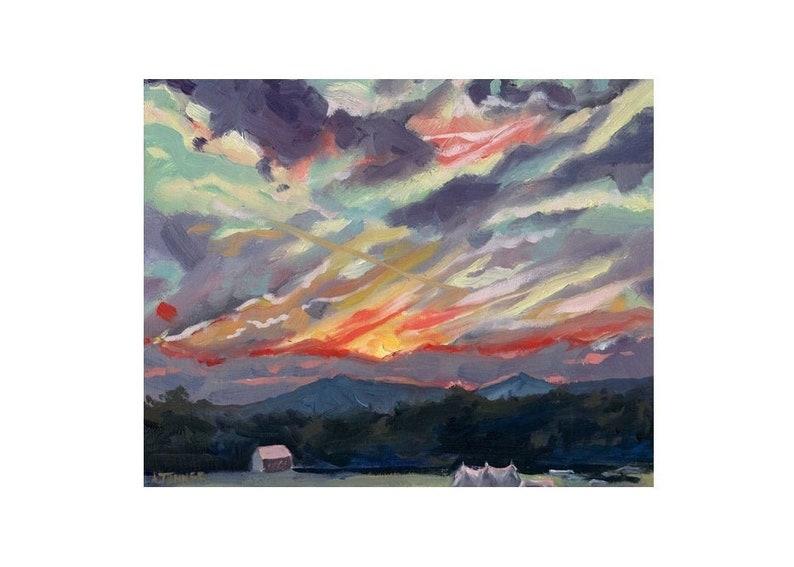 Oil Painting Original Landscape Oil Painting  Virginia image 0