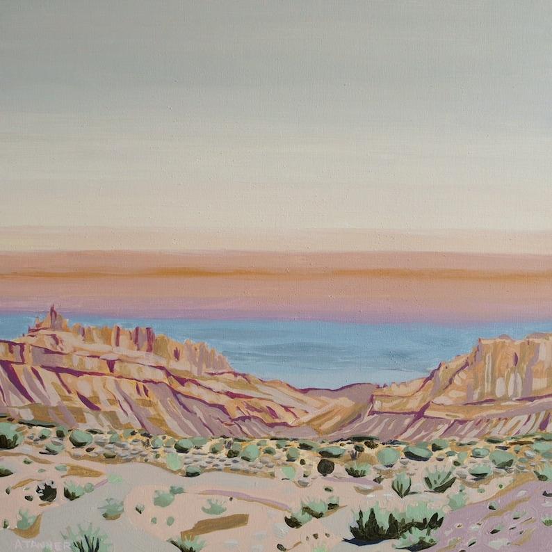 Utah Landscape Painting Original Painting Arches National Park image 0