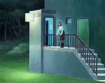Night - oil painting