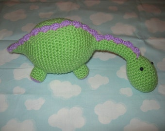 Henry the Herbivore Crochet Pattern PDF FILE