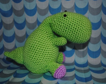 Carlito the Carnivore Crochet Pattern