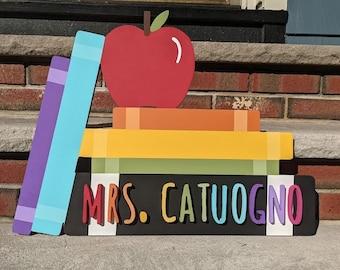 Custom Teacher Sign - Classroom Sign - Teacher End Of Year Gift - Teacher Gift - Personalized Classroom Sign - Welcome to Our Classroom Sign