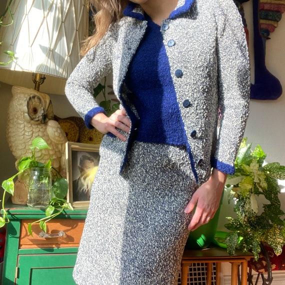 1950's SWEATER SET Wiggle Skirt & Top 50s Vintage