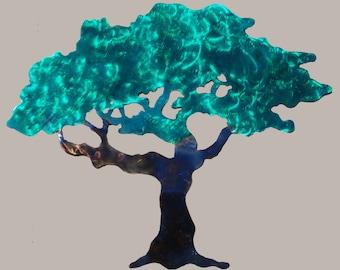 "Summer Tree Metal Art 37"" x 30"" - FREE SHIPPING!!"