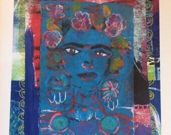 I Have Never Left (Nunca me Fui) Frida Greeting Card