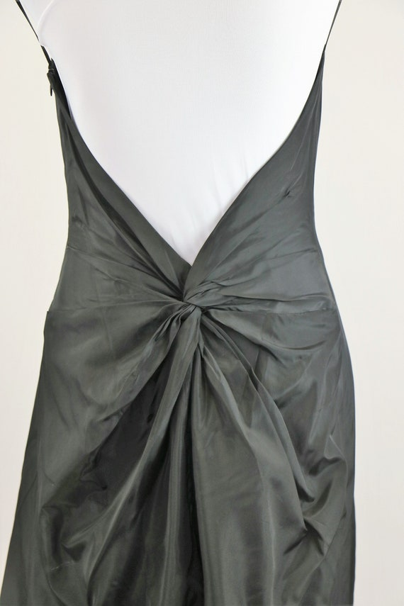 Vintage 1990's/Y2K Black Laundry Evening Gown