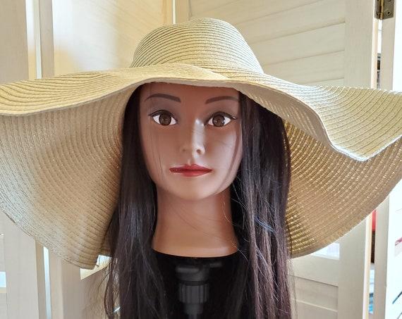 Boho Straw Wide Brim Hat