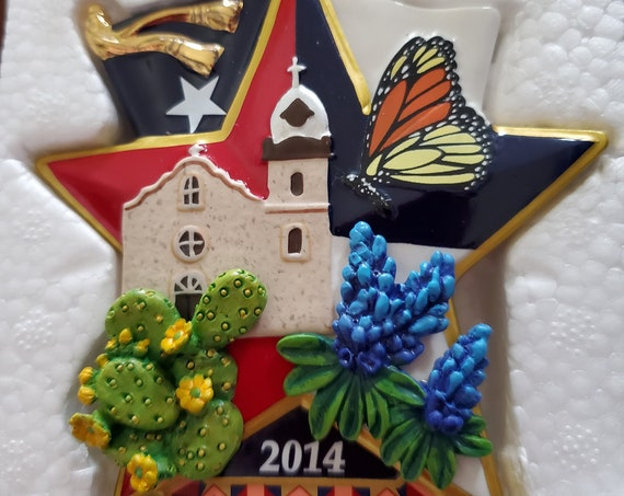 2014 Texas Danbury Mint Collectible Ornament