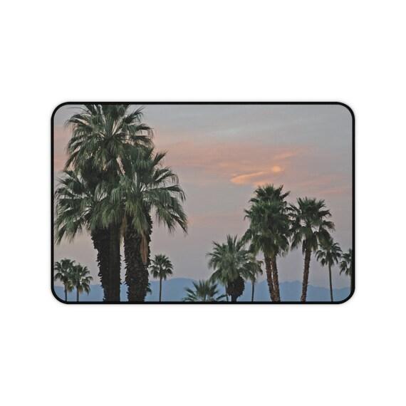 Palm Desert Sunset Desk Mat