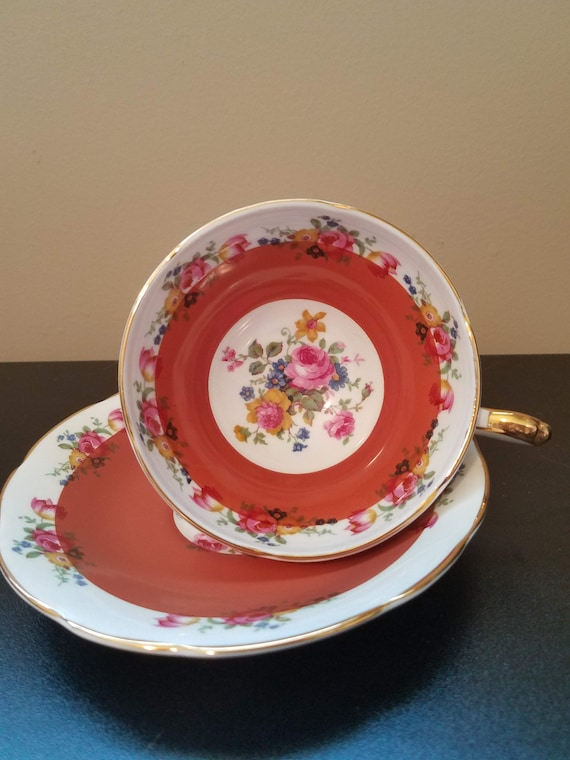 Royal Sutherland Vintage Fine Bone China made in Staffordshire, England